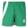 Шорты волейбольные Errea Nicole (женские) зеленый - белый
