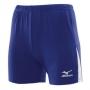 Шорты волейбольные Mizuno Trad shorts 362 (женские) синий - белый
