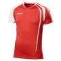 Футболка волейбольная Asics T-shirt fan man AW12 красный - белый