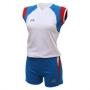 Форма волейбольная Nesco Peru (женская) белый - синий