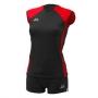 Форма волейбольная Nesco Panama (женская) черный - красный