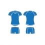 Форма волейбольная Legea Storm Umbria (женская) синий - белый