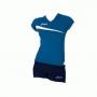 Форма волейбольная Asics Set Playoff AW11 голубой - темно-синий