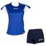 Форма волейбольная Asics Set Attack Lady голубой - темно-синий