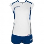 Форма волейбольная Asics Set Olympic Lady AW12 (женская) белый - голубой