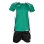Форма волейбольная Asics Set Olympic Man зеленый - черный