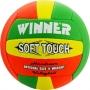Мяч волейбольный Winner Soft Touch оранжевый - зеленый