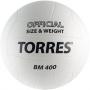 Мяч волейбольный Torres BM400 белый - черный