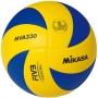 Мяч волейбольный Mikasa MVA330 желтый - синий