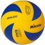 Мяч волейбольный Mikasa MVA300 желтый - синий