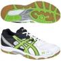 Кроссовки волейбольные Asics Gel-task SS14 белый - зеленый