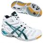 Кроссовки волейбольные Asics Gel-sensei 4 MT SS14 (женские) белый - голубой