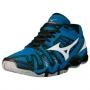 Кроссовки волейбольные Mizuno Wave Tornado 8 SS14 синий - черный