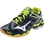 Кроссовки волейбольные Mizuno Wave Lightning RX3 SS14 черный - салатовый