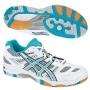 Кроссовки волейбольные Asics Gel-Tactic AW13 (женские) белый - голубой