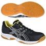 Кроссовки волейбольные Asics Gel-Doha AW13 черный - салатовый