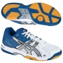 Кроссовки волейбольные Asics Gel-Rocket AW13 (женские) белый - синий