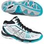 Кроссовки волейбольные Asics Gel-Volley Elite 2 MT AW13 (женские) белый - голубой