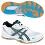 Кроссовки волейбольные Asics Gel-task AW13 (женские) белый - голубой