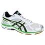Кроссовки волейбольные Asics Gel-Beyond 3 AW13 белый - зеленый