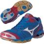 Кроссовки волейбольные Mizuno Wave Bolt 2 AW13 синий - красный