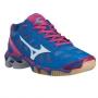 Кроссовки волейбольные Mizuno Wave Lightning RX2 AW13 (женские) синий - розовый