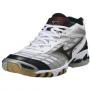 Кроссовки волейбольные Mizuno Wave Lightning Mid 7 AW12 белый - черный