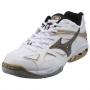 Кроссовки волейбольные Mizuno Wave Spike 14 белый - черный