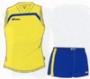 Комплект формы волейбольной CORAL Желто-синяя (женская)